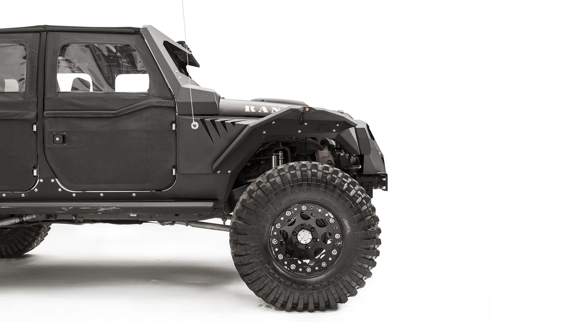 Fab Fours Jeep Jk Fenders